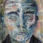 Portrait aux yeux fermés - 2011