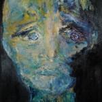 Portrait bleu 1 - 2011