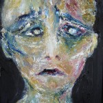 Portrait bleu 2 - 2011