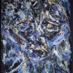 Portrait bleu 3 - 2013
