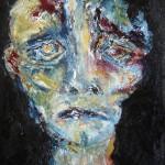 Portrait bleu 4 - 2011