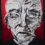 Portrait rouge 1 - 2011