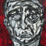 Portrait rouge 2 - 2011
