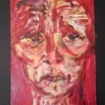 Portrait rouge 3 - 2011
