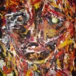Portrait rouge 4 - 2011