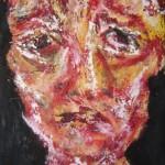 Portrait rouge 5 - 2011