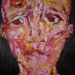 Portrait rouge 6 - 2011