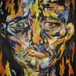 Autoportrait orange - 2011