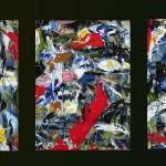 Triptyque Les Poissons rouges - 2015