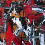 Impulsion rouge, noire et blanche - 2016