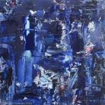 Bleu automatiste / Blue Automatist - 2016
