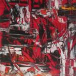 Impulsion carrée rouge noire et blanche - 2017